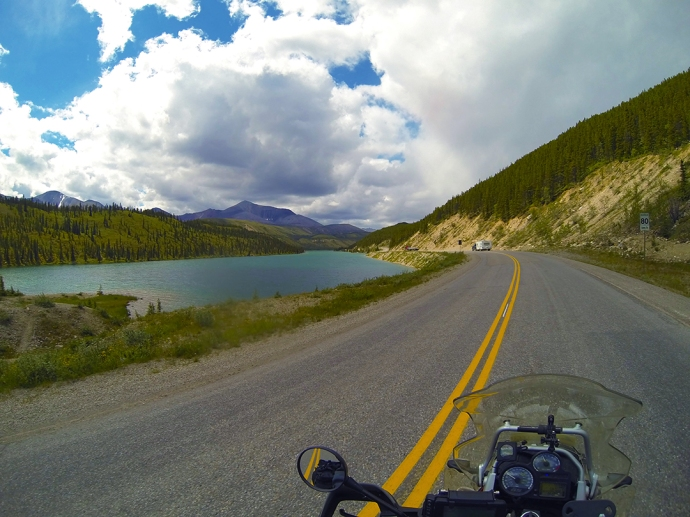 Today An Easy Ride To Whitehorse