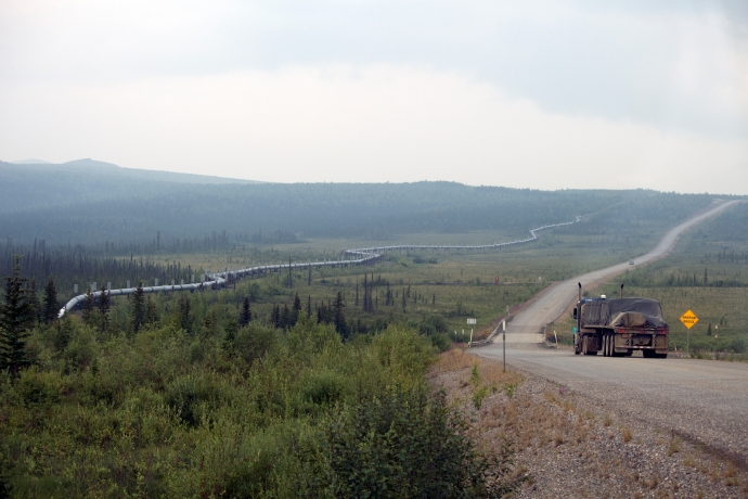 Looking North On the Dalton Highway